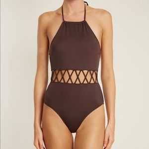 Solid & Striped Barbara one piece swimsuit NWT